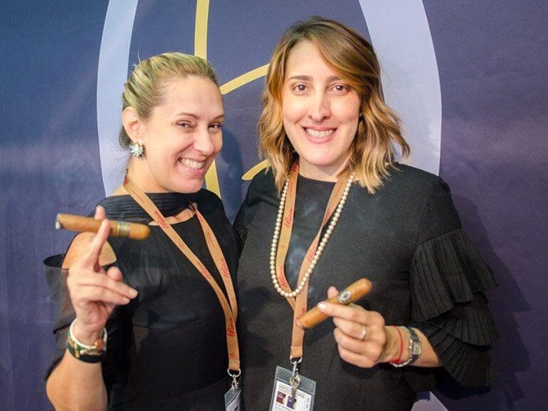 Raquel & Patricia Quesada InterTabac 2017