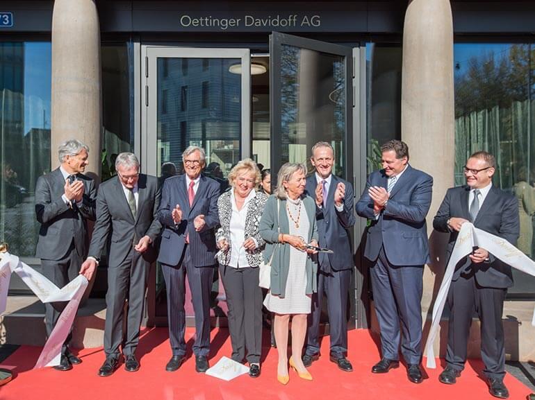 Maison Davidoff Headquarters Basel Opening