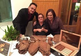 Cuban Cigar Roller in Asia: Marleny Martin Montesino