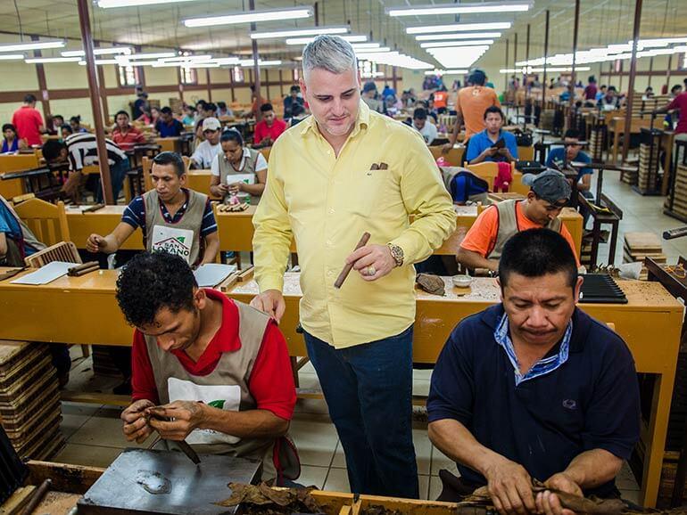 AJ Fernandez San Lotano Cigar Factory