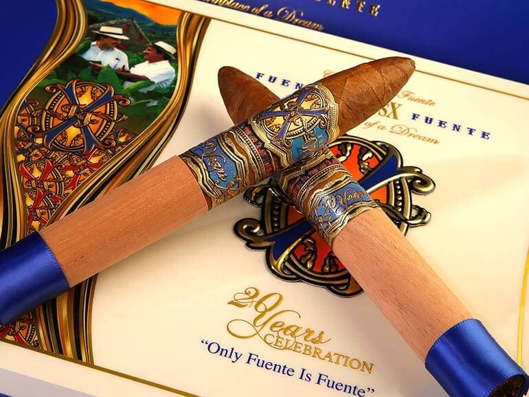 A. Fuente Opus X 20th Anniversary Humidor