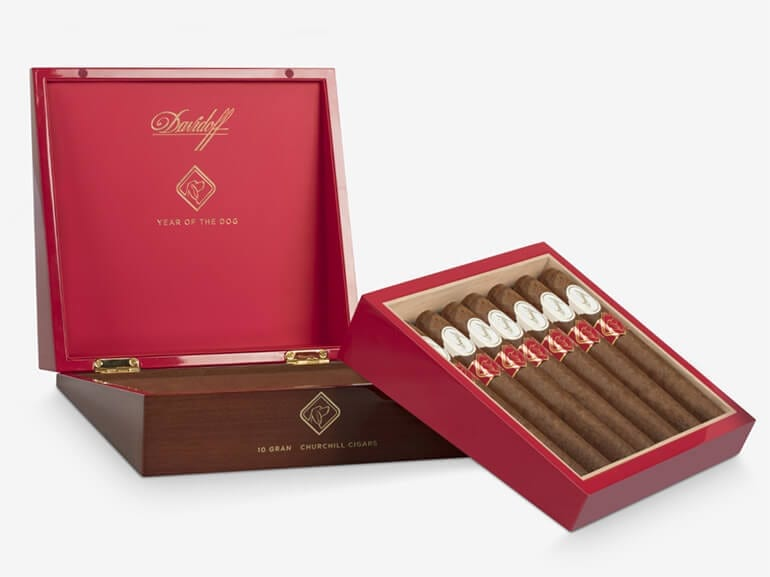 Davidoff Year of the Dog 2018 Cigar Box