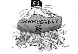 BdZ EU Schmuggel Zigarren