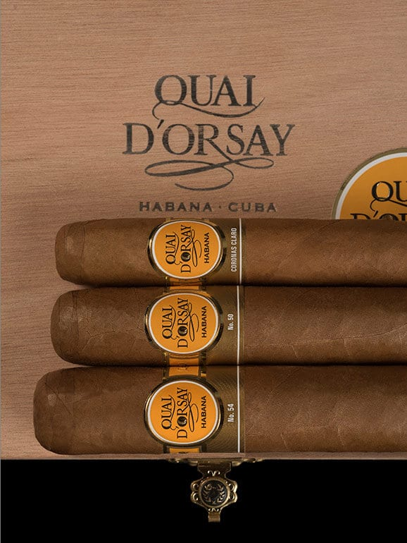 Quai d'Orsay cigars lineup new design