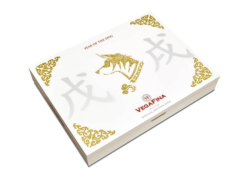 VegaFina Year of the Dog Cigar Box