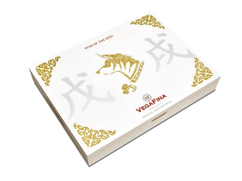 VegaFina Year of the Dog Cigar Box