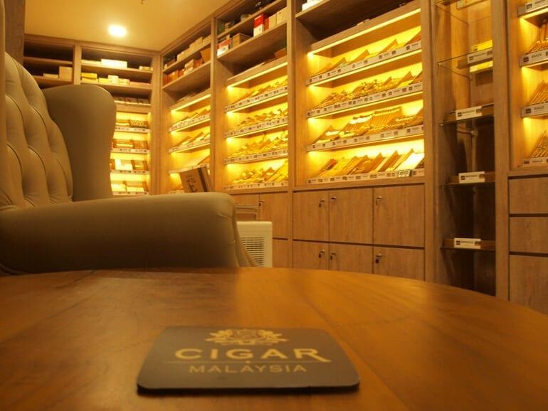 Cigar Malaysia at the Ansa Hotel