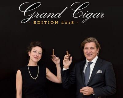 Günter liska und Diana Millet, Veranstalter Gran Cigar