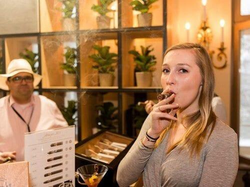 Balmoral Zigarrenlounge InterWhisky 2017