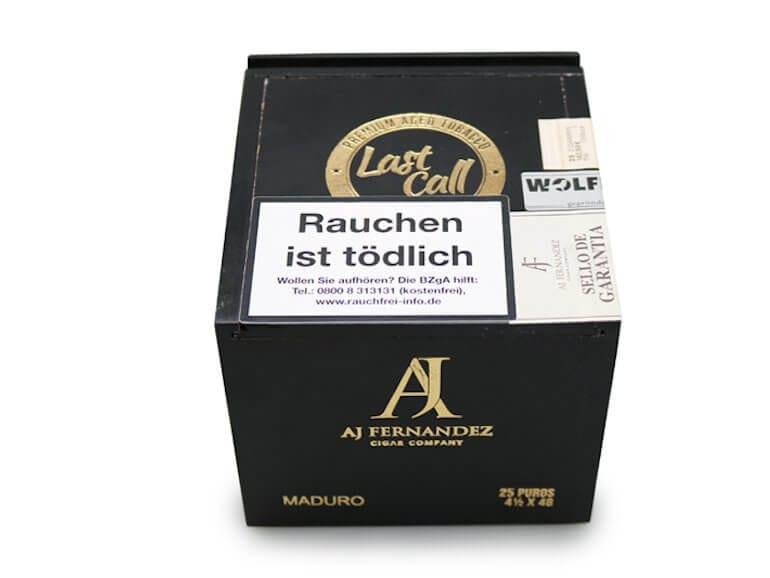 Wolfertz GmbH präsentiert in diesem Monat Zigarren-Neuheiten von AJ Fernandez und Didier Houvenaghel Cigars: die Last Call Maduro
