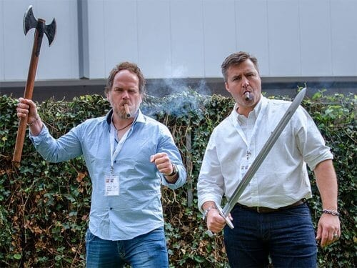 Arnt Ånensen und Hawk Annoncen