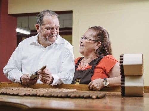 Dr.Cuenca and Panchita