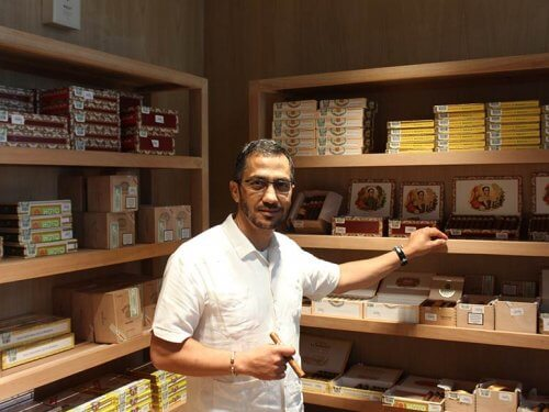 Osmani Rios in Cohiba Atmosphere