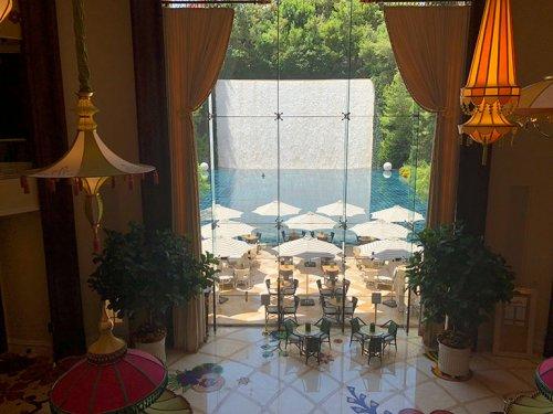 Parasol Down Wynn Hotel Las Vegas
