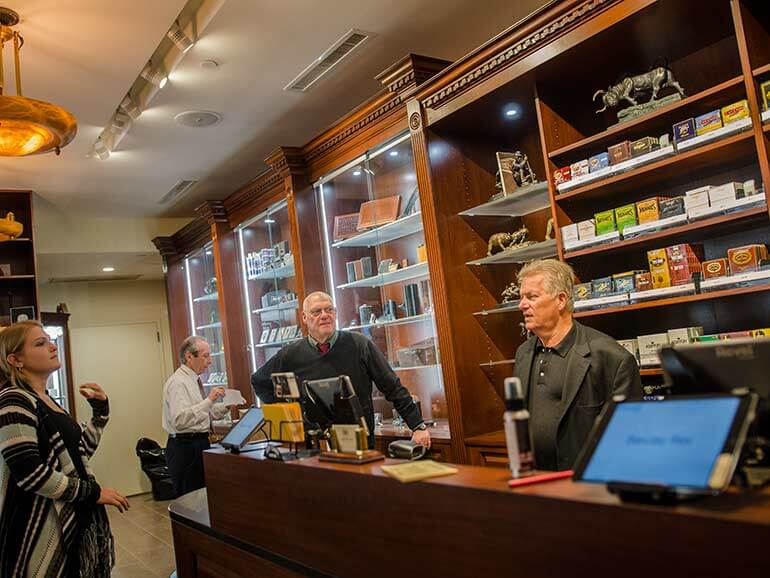 Barclay Rex Cigar Shop New York