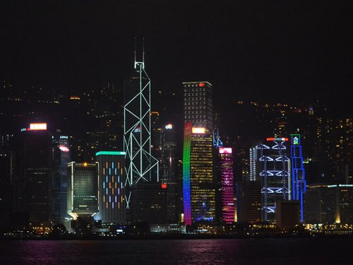 HongKong City at Night