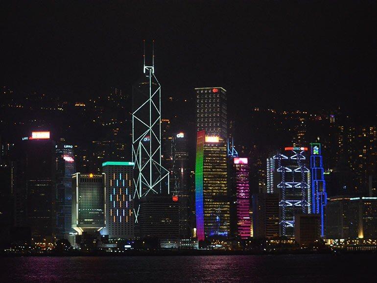 HongKong City at Night