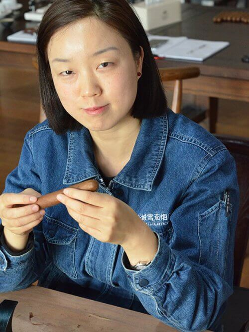 Li Qiu Yue Great Wall Cigars