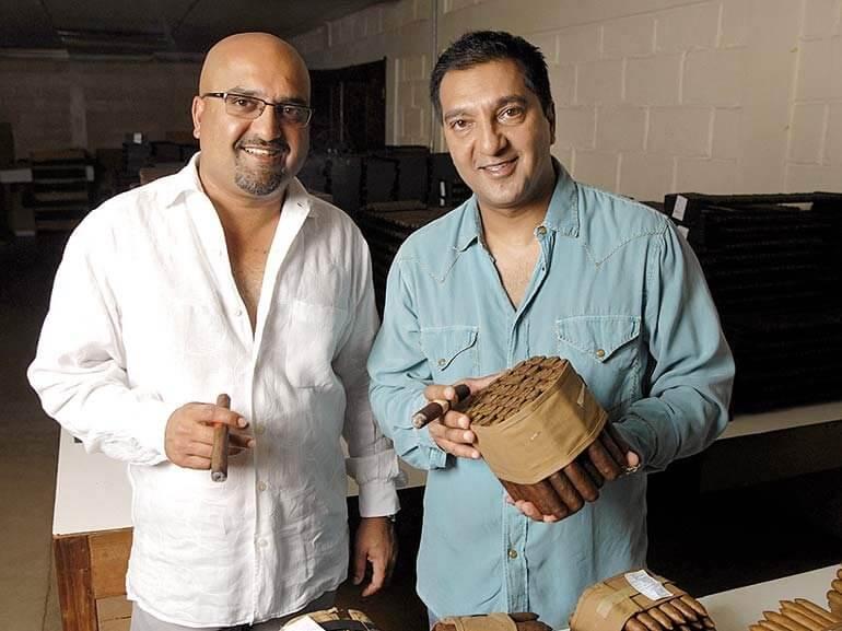 Nish and Rocky Patel