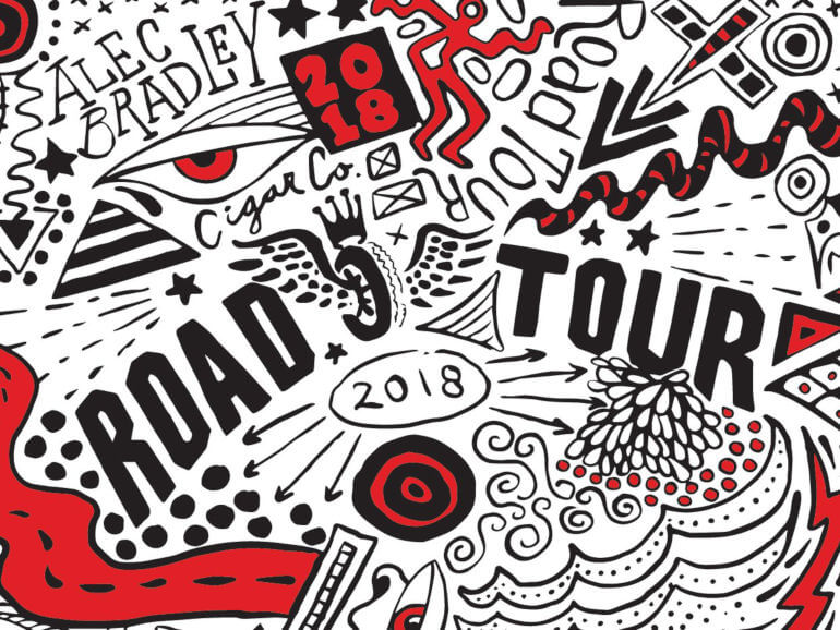 Aley Bradley Road Tour Europe 2018