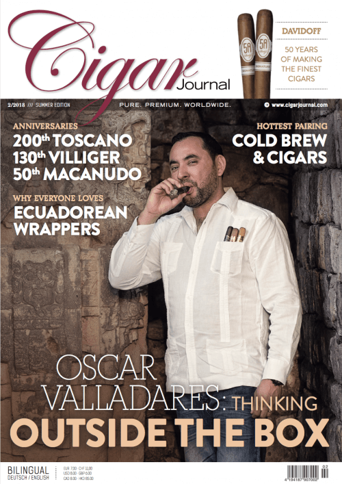 Cigar Journal Summer Edition 2018 Oscar Valladares