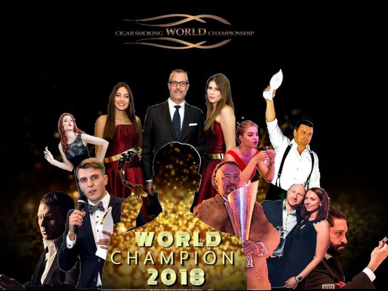 Cigar Smoking World Championship 2018