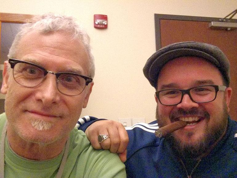 Gary Korb and Nick Melillo