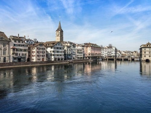 Old Town Zurich Switzerland