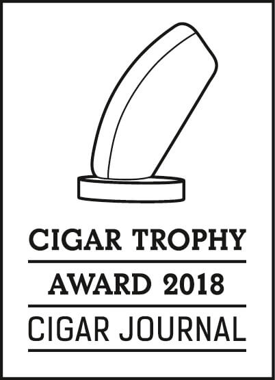 Cigar Trophy Award 2018 Badge