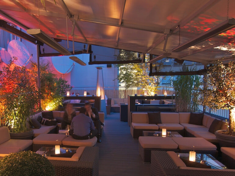 Lady Hamilton Rooftop Bar Zürich