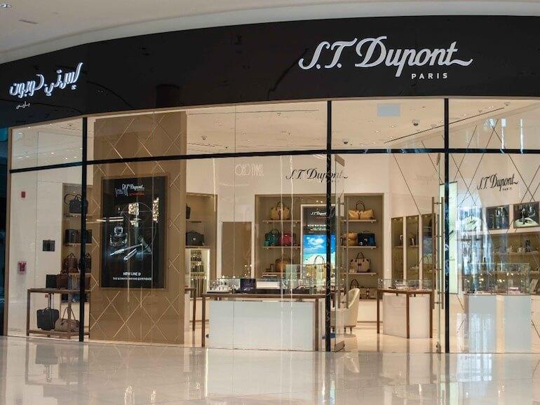 S.T. Dupont Store Dubai Mall