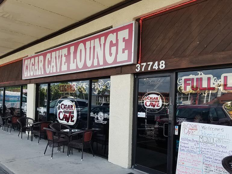 Cigar Cave Lounge Palm Harbor