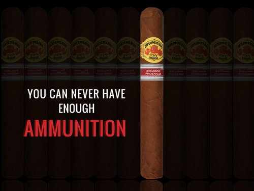 Edición Regional Phoenicia 2018 Diplomaticos Ammunition