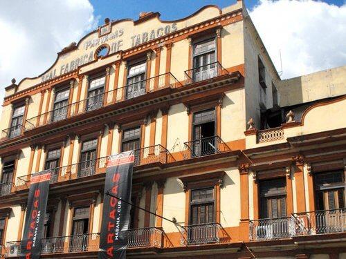 Partagas Cigar Factory Havana Cuba