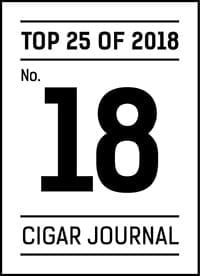 Cigar Journal Top 25 Cigars of 2018