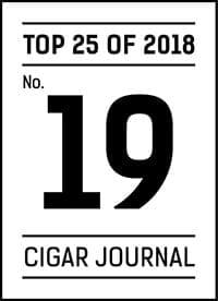 Cigar Journal Top 25 of 2018