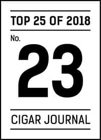 Cigar Journal Top 25 of 2018