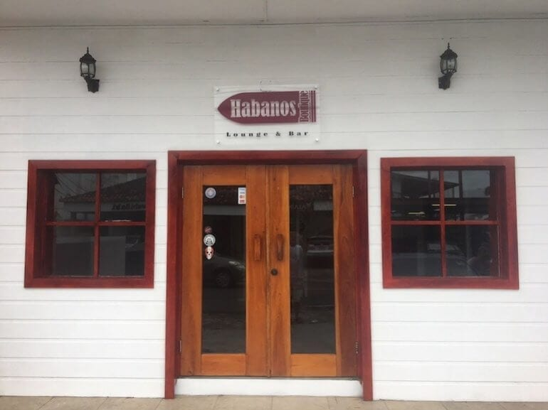 Habanos Boutique Lounge and Bar in Panama