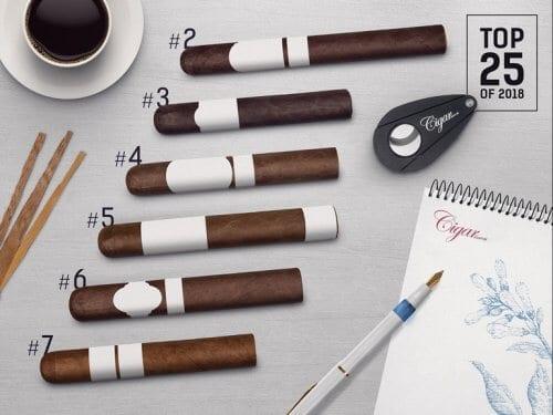 Cigar Journal Top 25 Cigars of 2018