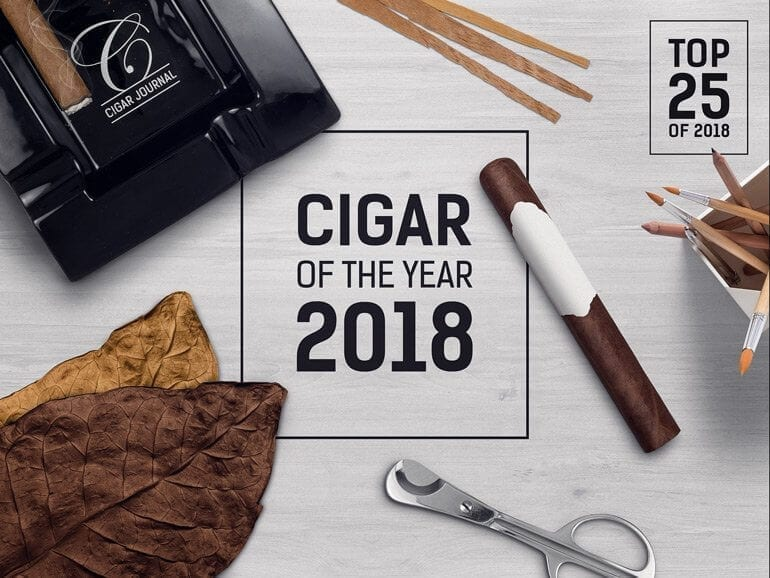 Cigar Journal Cigar of the Year 2018