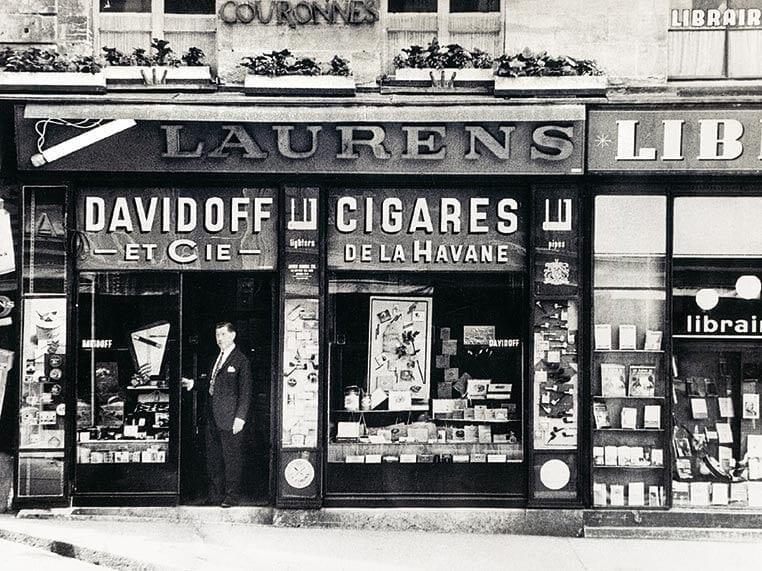 Davidoff Laden Boulevard Philosphes
