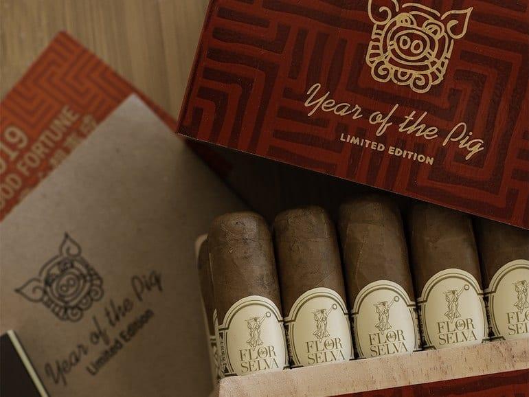Flor de Selva Year of the Pig Limited Edition Cigar 2019