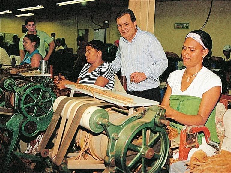 Hendrik Kelner in der Cidav Fabrik