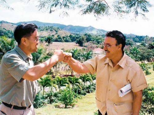 Keith Park and Carlito Fuente