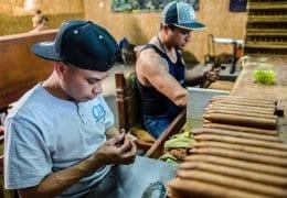 Brun del Ré Cigar Factory Workers Costa Rica