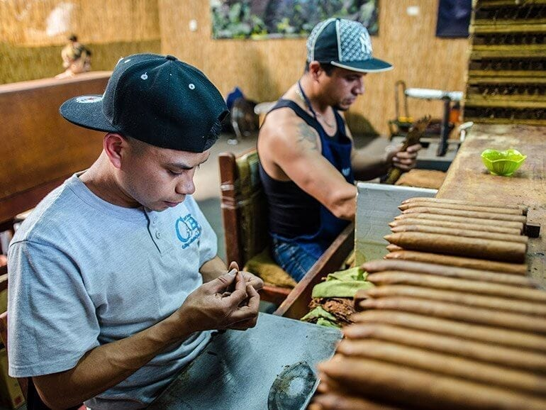 Brun del Ré Cigar Factory Workers Costa Rica