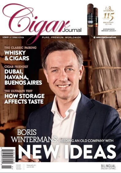 Boris Wintermans - Cigar Journal Spring Edition 2019
