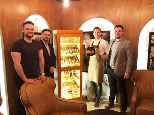 Erste Habanos Lounge Krakau
