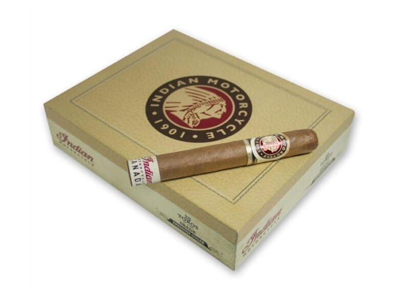 Indian Motorcycle Cigars Connecticut Shade