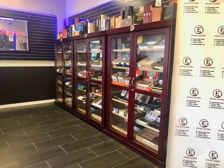 E squared cigar lounge